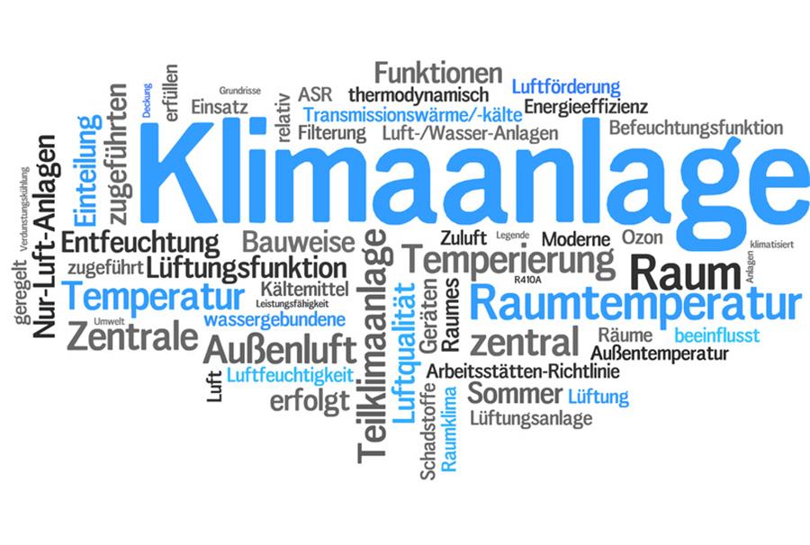 Vermietung von Klimaanlagen